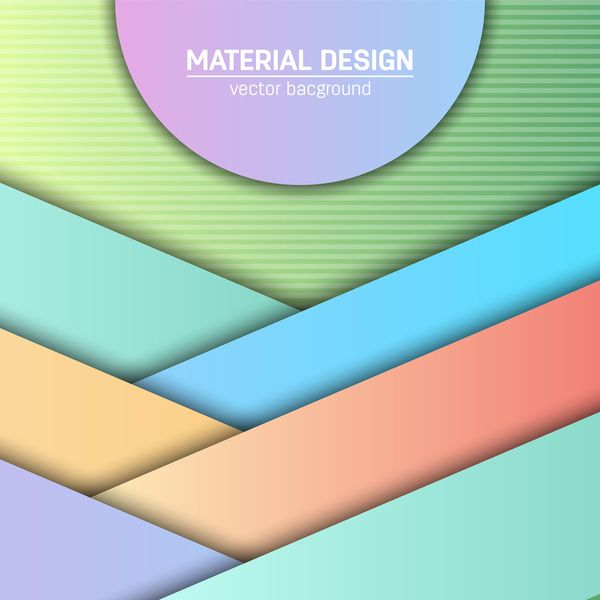 Layered colored modern background vectors 07