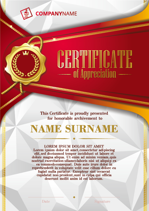 Luxury diploma and certificate template vector design 01 vector luxury diploma and certificate template vector design 01 yadclub Image collections