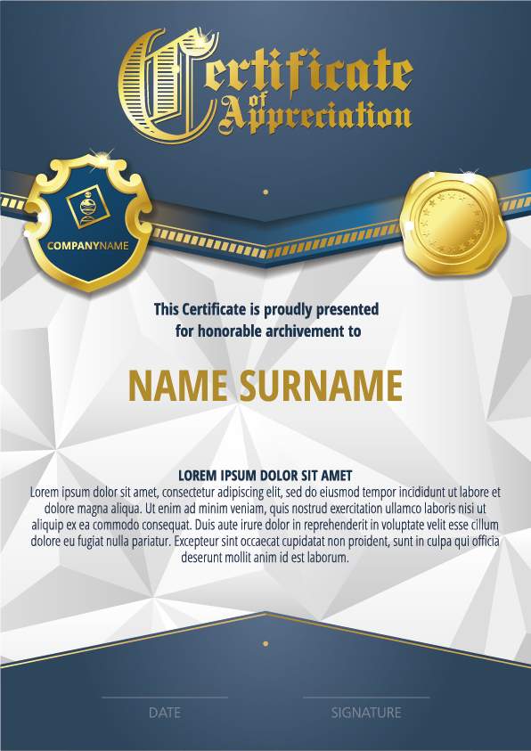 Luxury diploma and certificate template vector design 12 vector luxury diploma and certificate template vector design 12 yadclub Image collections