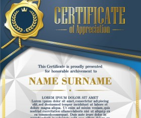Luxury diploma and certificate template vector design 21