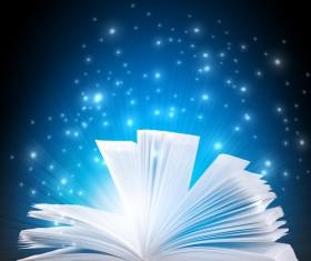 Magic book Stock Photo 01