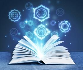 Magic book Stock Photo 02