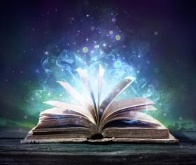 Magic book Stock Photo 04
