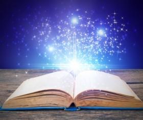 Magic book Stock Photo 05