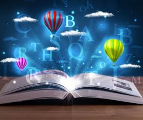 Magic book Stock Photo 07