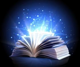 Magic book Stock Photo 09