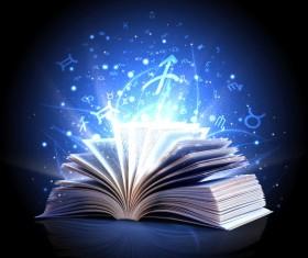 Magic book Stock Photo 10