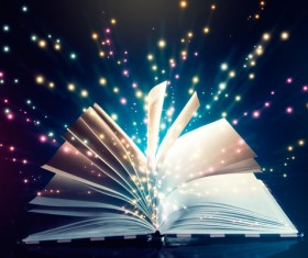 Magic book Stock Photo 12