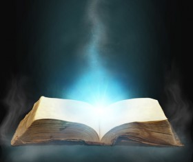 Magic book Stock Photo 13