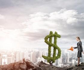 Make your money grow Stock Photo 03
