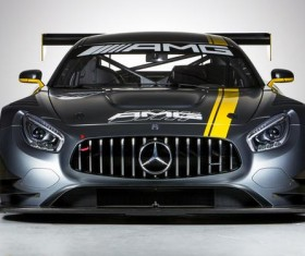 Mercedes AMGGT3 Stock Photo