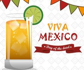 Mexico viva poster template vector 01