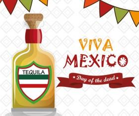 Mexico viva poster template vector 03
