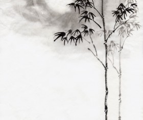Moonlight under the bamboo