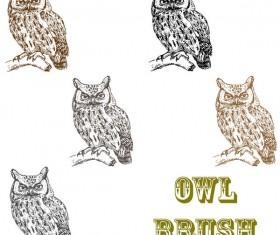 Owl photoshop brushes