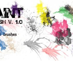 Paint Splash Grunge photoshop brushes