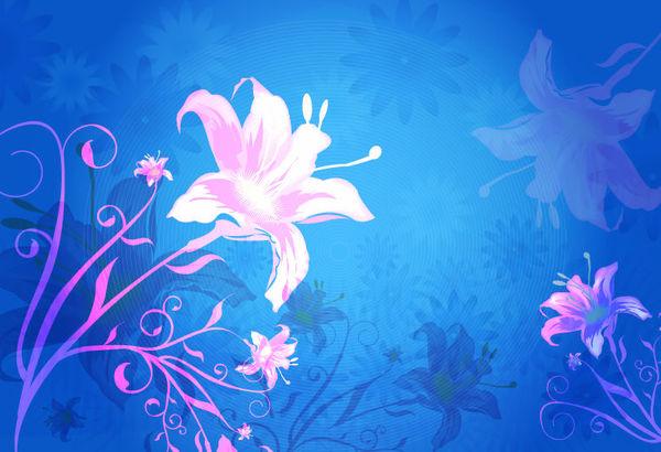 romantic blush pink spring flower glittery laser cut