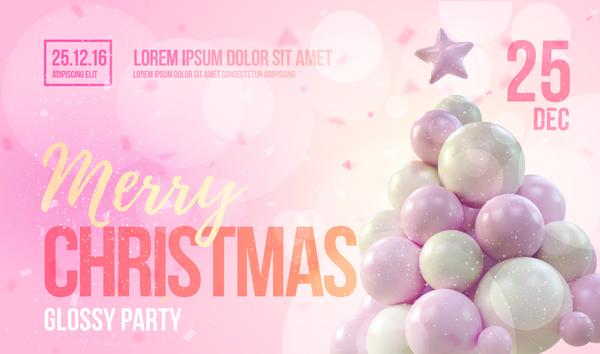 pink flyer background