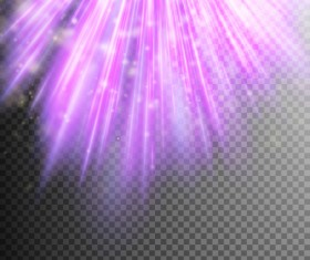 Purple Light rays illustration vector 03