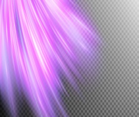 Purple Light rays illustration vector 04