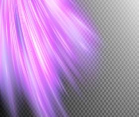 Purple Light rays illustration vector 04