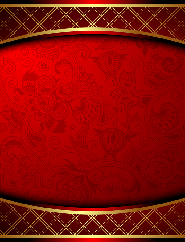 Red Luxury Background Vector Material Free Download