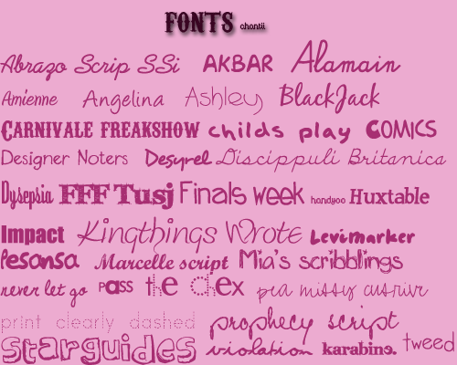 Retro creative font pack