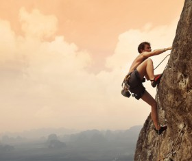 Rock climbing HD picture