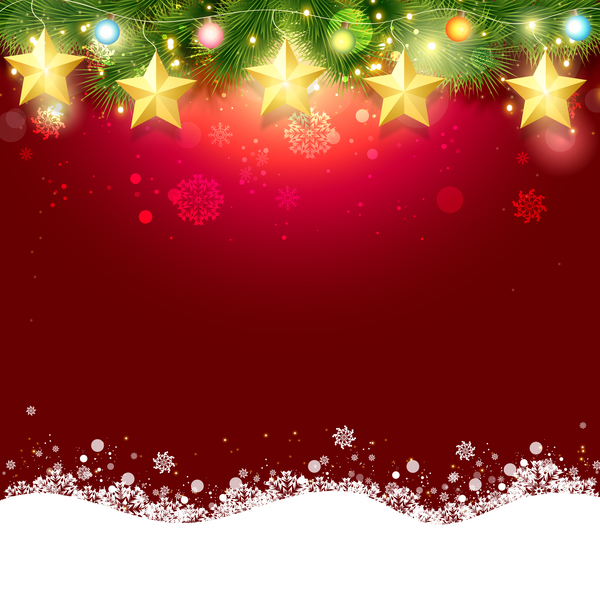 red christmas background ai -#main