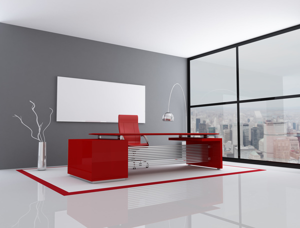 Simple And Bright Modern Office Hd Picture Interiors