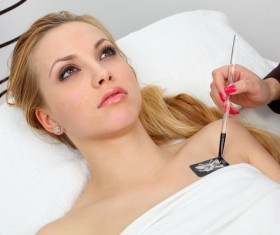 Tattooed female HD picture