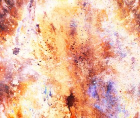 Watercolor Abstract Painting Background Stock Photo 03