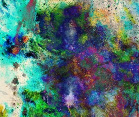 Watercolor Abstract Painting Background Stock Photo 06