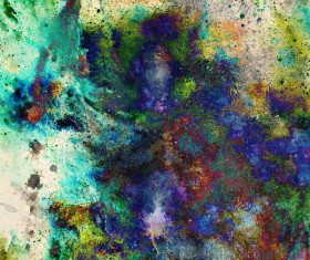 Watercolor Abstract Painting Background Stock Photo 07