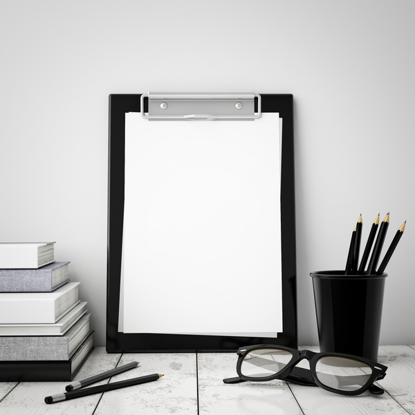 White folder frame HD picture free download