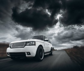 White high-end cars 01 HD picture