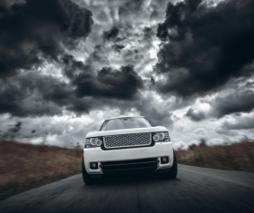 White high-end cars 02 HD picture