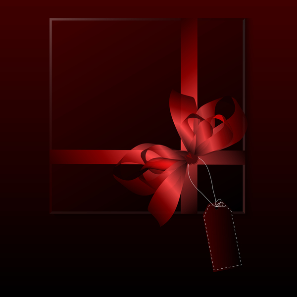 luxury square gift box template vector 06