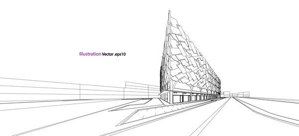 market finish vector illustration