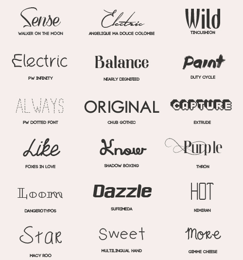 Download 18 Kind free font pack free download