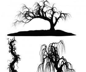 3 Kind tree photoshop brushes