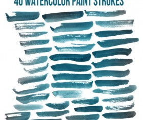 40 Kind Watercolor Brushes