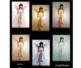5 Kind Photo palette photoshop action