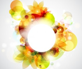 Abstract background with colorful elements vectors 02