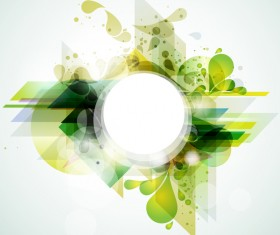 Abstract background with colorful elements vectors 03