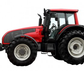 Agricultural tractors Stock Photo