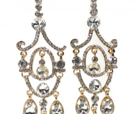 All kinds of jewelry earrings Stock Photo 01