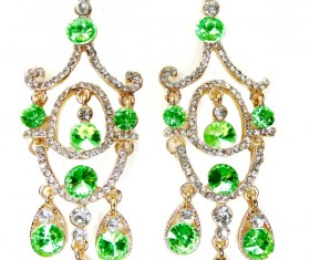 All kinds of jewelry earrings Stock Photo 02