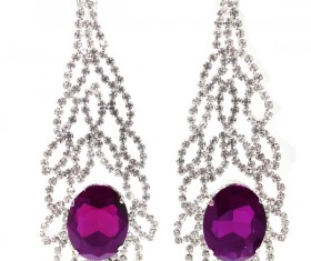 All kinds of jewelry earrings Stock Photo 03