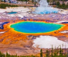 Beautiful Wonders of the Earth Stock Photo